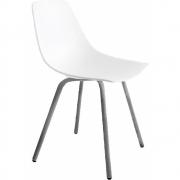 Chaise 4 pieds chromé mat Miunn S161 - La Palma