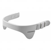 Leander - Safety Bar incl. Belt for Highchair White, Belt: Natural