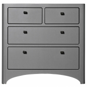Leander - Dresser with 4 Drawers Gray