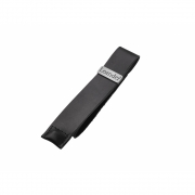 Leander - Leather Belt for Safety Bar Black