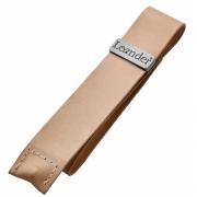 Leander - Leather Belt for Safety Bar Natural