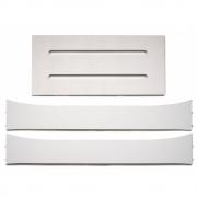 Leander - Holzerweiterungsteile für Leander Babybett Weiß