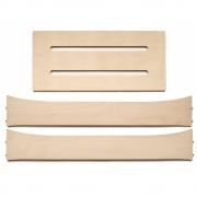 Leander - Holzerweiterungsteile für Leander Babybett