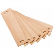 Leander - Leather Handles for Leander/Linea Dresser (6 pcs.) Natural
