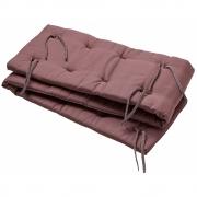 Leander - Nestchen für Linea Babybett Warm Purple