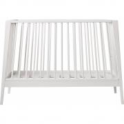 Leander - Linea Babybett Weiß | Ohne Matratze