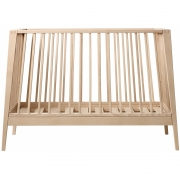 Leander - Linea Baby Cot Beech | Without Mattress