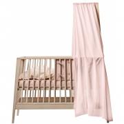 Leander - Himmel-Set für Babybett Linea Eiche | Soft Pink