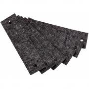 Leander - Filzgriffe für Leander/Linea Kommode (6 Stk.) Grau