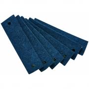 Leander - Filzgriffe für Leander/Linea Kommode (6 Stk.) Blau