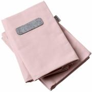 Leander - Bezug für Linea Rückenkissen (4 Stk.) Soft Pink