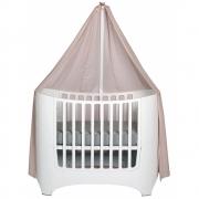 Leander - Himmel-Set für Leander Classic™ Babybett Weiß | Soft Pink
