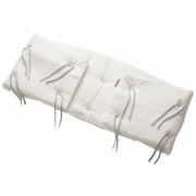 Leander - Bumper for Classic Baby Cot Snow