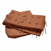 Leander - Sofa-Set Linea™ und Luna™ Babybett 120 cm Ingwer