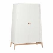 Leander - Luna™ Kleiderschrank, groß Weiß/Eiche