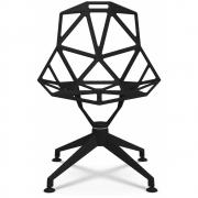 Magis - Chair One 4Star Cadeira Giratória Preto