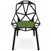 Magis - Cuscini Chair One Almofada De Assento Verde