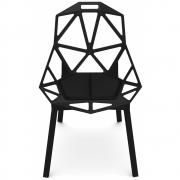 Magis - Cuscini Chair One Almofada De Assento Cabedal Preto