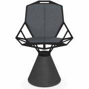 Magis - Cuscini Chair One Almofadas De Assento E Encosto Cinzento