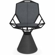 Magis - Cuscini Chair One Almofadas De Assento E Encosto Cinzento Claro Steelcut Trio