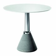 Magis - Table One Bistrot Tisch Ø 79 cm | Weiß-Poliert