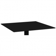 Magis - Table One Bistrot Platte 79 x 79 cm Schwarz