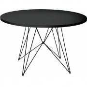 Magis - XZ3 Tisch rund Schwarz-Schwarz