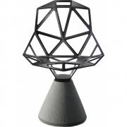 Chair One Chaise pivotante avec socle en ciment - Magis
