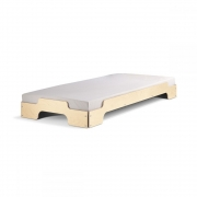 Rolf Heide Stacking Bed 90 x 200 x H 23 cm | Birch oiled and waxed