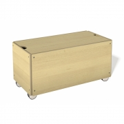 Bedding Box with Wheels for Stacking Bed Comfort Height