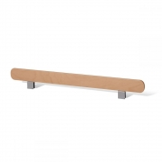 Müller Möbel - Safety Rail for Rolf Heide Stacking Bed 140 cm | CPL White with Birch Edge
