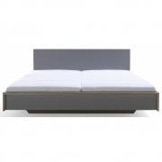 Kopfteil für Flai Doppelbett 160 cm | CPL Anthrazit mit Birkenkante