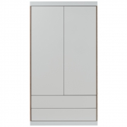 Flai Wardrobe Two Doors and Drawer