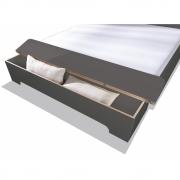 Bettkasten für Plane Doppelbett