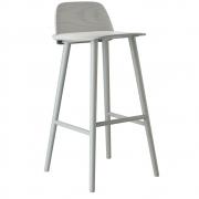 Muuto - Nerd Barhocker 65 cm | Grau