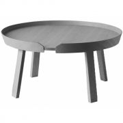 Muuto - Around Coffee Table Extra Large | Dark Grey