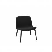 Muuto - Visu Lounge Chair Black (Steelcut 190)