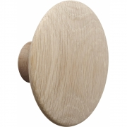 Muuto - The Dots Wall Hook Medium | Oak