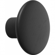 Muuto - The Dots Woods Wall Hook Small | Black