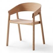 Muuto - Cover Stuhl Eiche