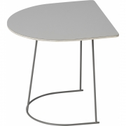 Muuto - Table d'appoint Airy Half Gris