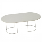 Muuto - Airy Coffee Table Groß | Grau