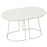 Muuto - Airy Coffee Table Klein | Cremeweiß
