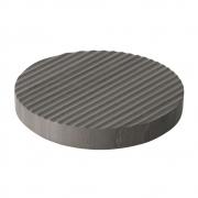 Muuto - Groove Marmor-Untersetzer Ø 16 cm | Grau