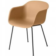 Muuto - Fiber Chair Ochre/Black