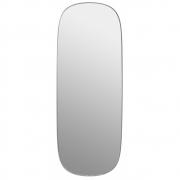 Muuto - Framed Spiegel Groß | Grau/Transparent