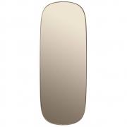 Muuto - Framed Spiegel Groß | Taupe