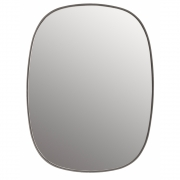 Muuto - Framed Mirror Small | Grey/Clear