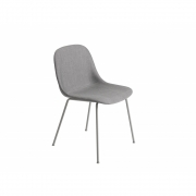 Muuto - Fiber Side Chair Fabric Remix 133 - Grey