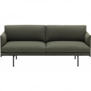 Muuto - Outline 2-Sitzer Sofa Fiord 961